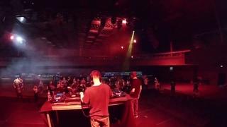 04. Storm Crew (DJ Dan b2b DJ Groove) & MC V - Live at Big Rewind (Arbat-Hall 04-11-2018)
