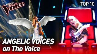 GORGEOUS Female Voices on The Voice | Top 10