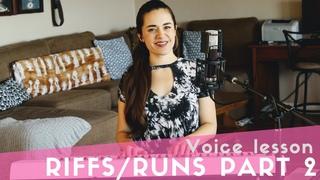 Riffs & Runs - part 2 | Beyoncé, Whitney Houston, YEBBA, Chris Stapleton, Tori Kelly