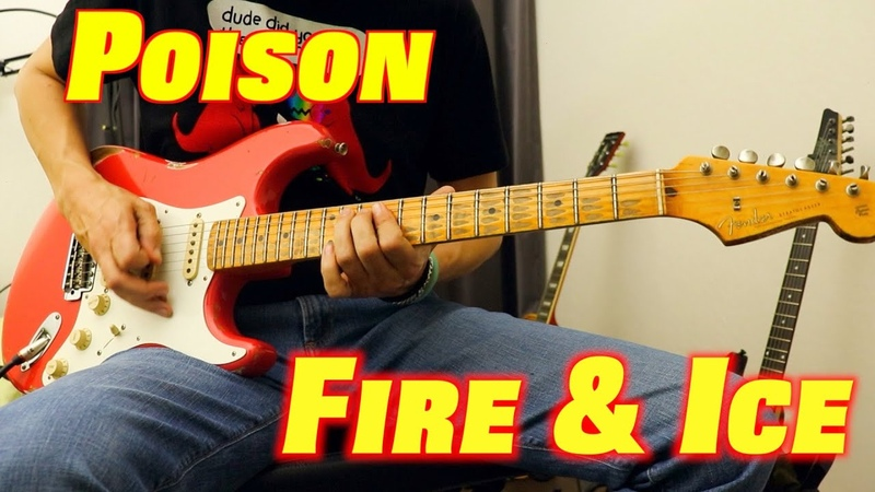 Richie Kotzen Poison Until You Suffer Some Fire Ice Full Song Guitar Cover