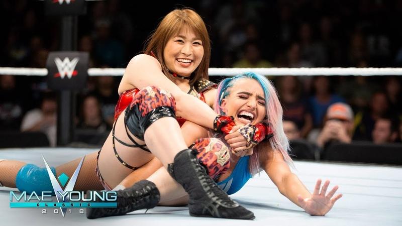 Io Shirai vs Xia Brookside First Round Match Mae Young Classic Sept 26 2018