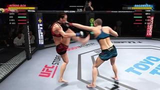 VBL 52 Strawweight Joanna Jedrzejczyk vs Rose Namanjunas