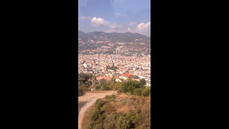 Турция красная гора Алания сентябрь 2020
