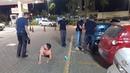 Empresário e preso no centro de Taguatinga depois de passar a mão na bunda de cliente.