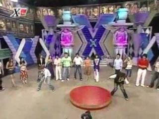 TVXQDBSK- Yuchun Junsu dance battle (x-man 2005) JYJ