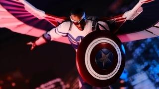 Marvel Select Captain America (The Falcon and The Winter Soldier) Action Figure Review!!!!!!!!