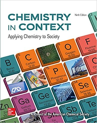 Chemistry in Context, 9th Edition