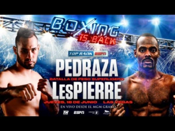 Fight Night Champion Хосе Педраса Миккель Леспьер Jose Pedraza Mikkel LesPierre