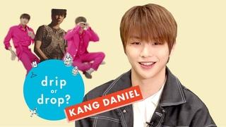 'PARANOIA' Singer Kang Daniel Reacts to Wild Fashion Trends | Drip or Drop? | Cosmopolitan