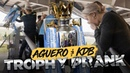 PREMIER LEAGUE TROPHY PRANK De Bruyne Aguero Prank Man City Fans