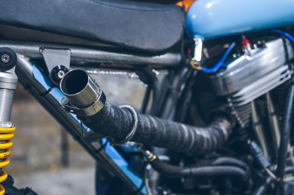 Кроссовый кастом Harley-Davidson Sportster