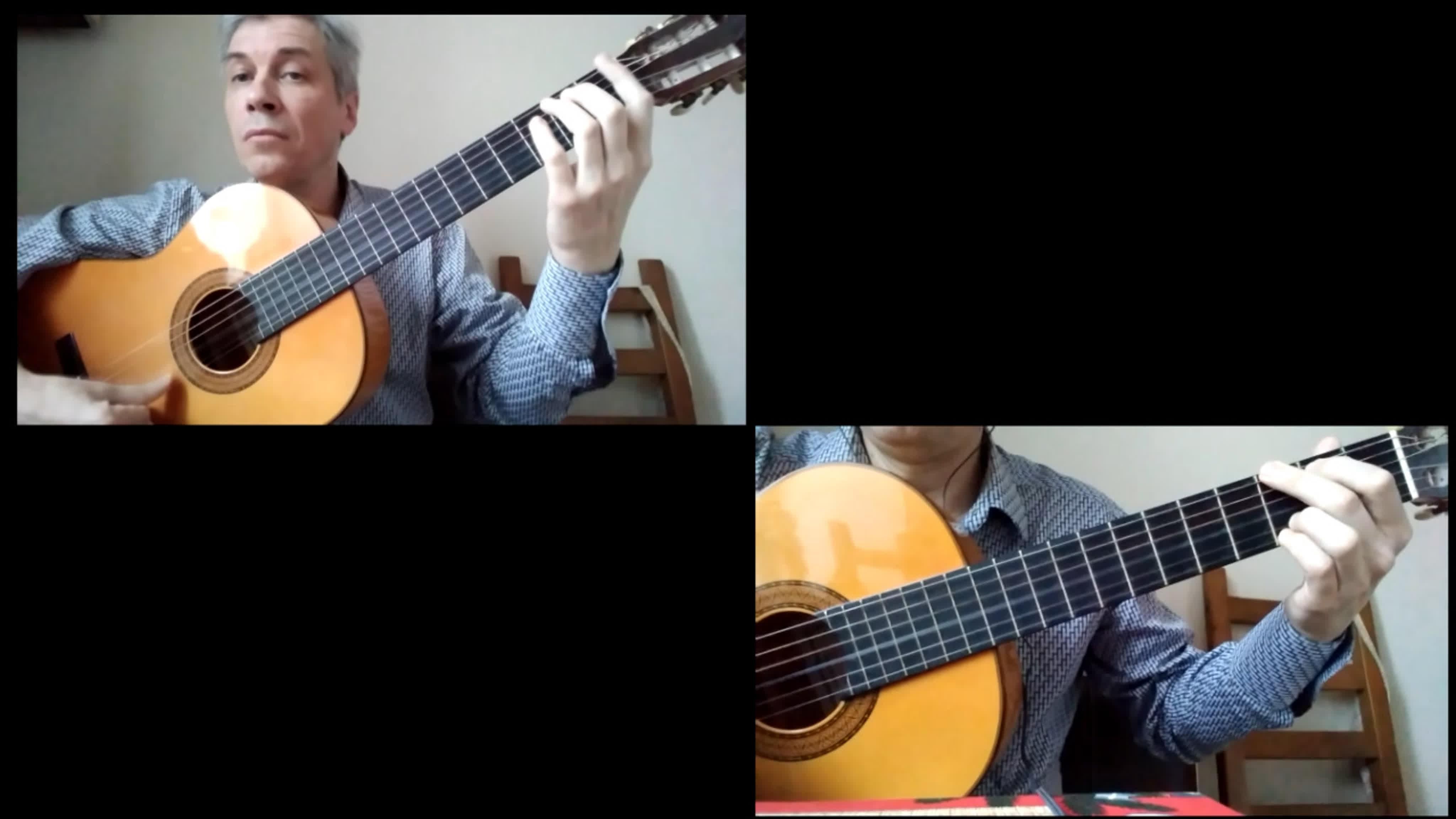 Мастер-класс по игре на гитаре