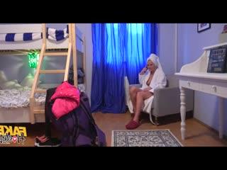 Kathy Anderson, Tera Link, Tracy Lindsay (девочка брюнетка блондинка сестра спит подруга студентка узкая молодая pov solo худая