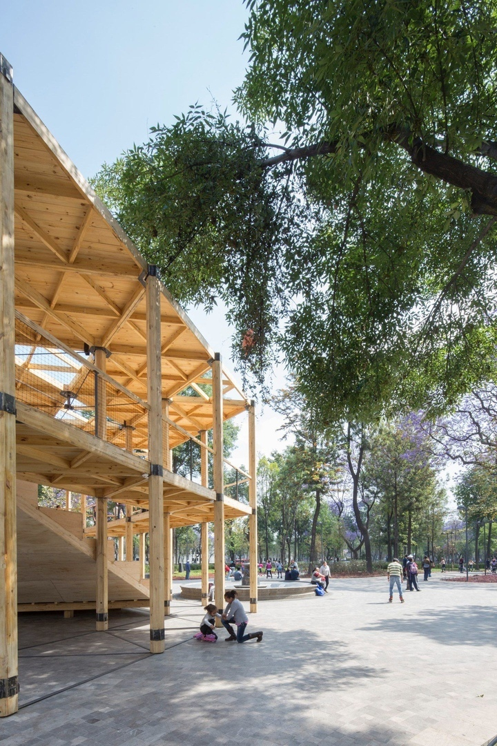 House of Switzerland Alameda Pavilion in Ciudad de México, Mexico by Dellekamp Arquitectos