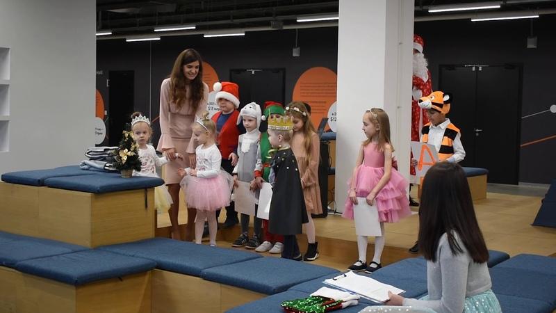 Once Upon a Christmas Eve песенка помощников Санты