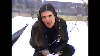 Inverview with Volkodlakh (Throne) (bootleg concert video from Rarog's Fire VHS)