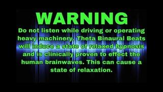 Deep Sleep - 432Hz Root Chakra Healing -  [ Black Screen ]  Binaural Beats   Soothing Rain