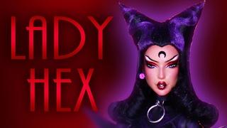 Custom Lady Hex Doll 💜 ⛓ [ MAGICAL DOLL COLLABORATION 💖 ]