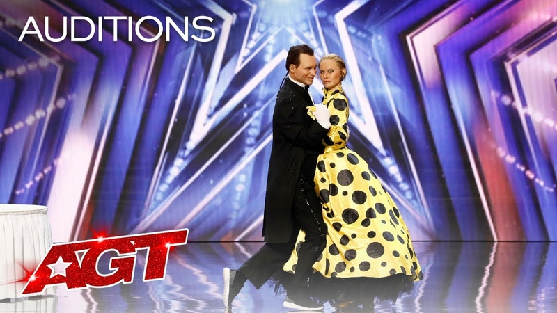Pasha and Aliona SURPRISE The Judges With an Unexpected Performance America's Got Talent 2021
