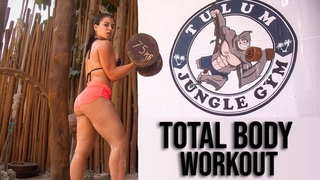 JUNGLE GYM TULUM 💪🏼 TOTAL BODY WORKOUT| TULUM JUNGLE GYM 💪🏼 ENTRENAMIENTO de CUERPO COMPLETO