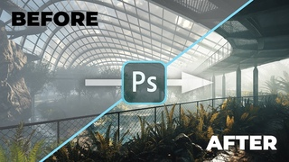 Exterior visualization - the post-production process in PS (Part 1)