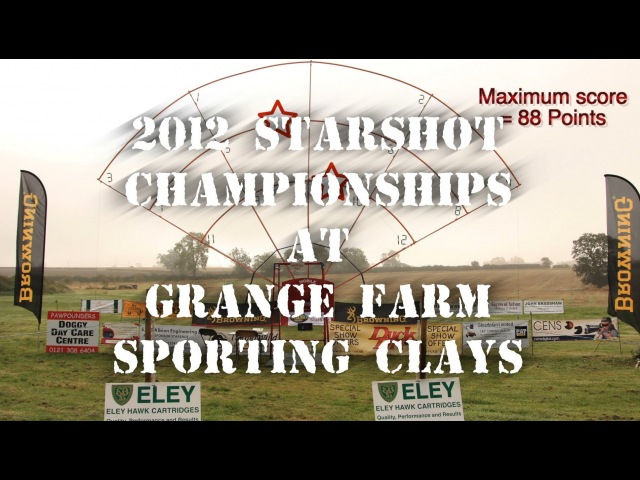 2012 Starshot Championships at Grange Farm Sporting Clays