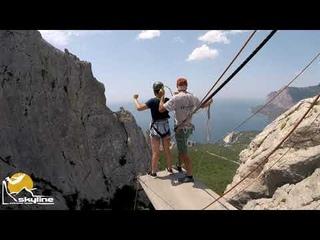 Алёна Ilias-kay Rope jumping with Skyline x-team in Crimea