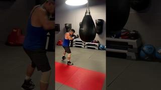 Shekhov Boxing training