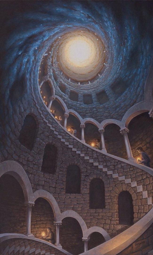 Картины-иллюзии от Роберта Гонсалесам