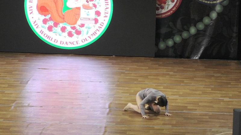 Эстрадный танец World Trophy WADA Elite Взрослые соло женщины 1 2 финала