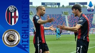 Bologna 4-1 Spezia | Svanberg Double in Dominant Victory | Serie A TIM