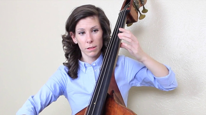 The Vomit Exercise for Double Bass