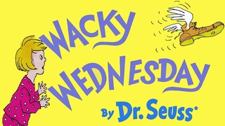 WACKY WEDNESDAY by DR SEUSS   COUNT ALL THE WACKY THINGS   KIDS BOOKS READ ALOUD