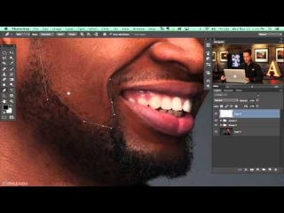How to Retouch an Editorial Headshot in Photoshop (Part 2 of 3) \\з