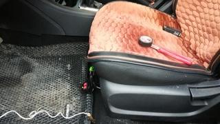 Не греет обогрев сидений веста, ВАЗ 2110-12, приора. Решил проблему