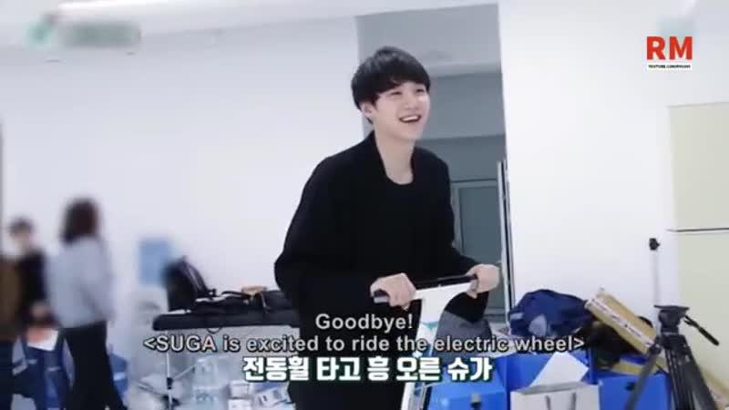 BTS SUGA 방탄소년단 is still a baby