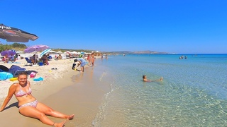 Beach Walk - Çeşme Altınkum Plajı - Izmir Türkiye