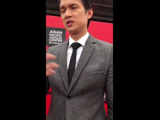 Harry shum jr attends the smithsonian's celebration of asian pacific americans