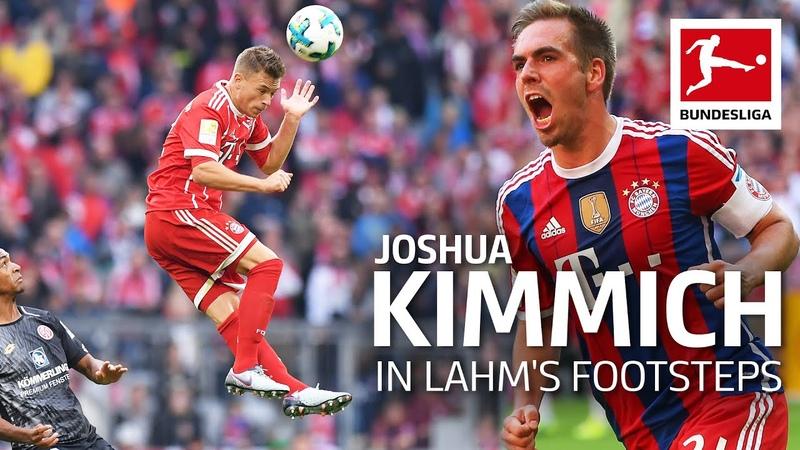How Bayern's Joshua Kimmich Replaced World Champion Philipp Lahm