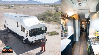 High Tech School Bus Conversion - Nissan Leaf Powered Tiny House For Family Of 6