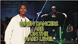 WHEN DANCERS ARE ON THE HARD LEVEL -  Les Twins,  Rubix, Fik Shun, Arsenal,  Havoc, Konkrete, etc...