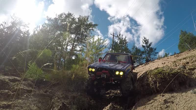 RCcross Demon Downhill crash