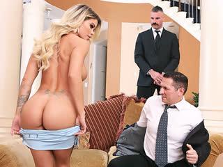 Jessa Rhodes, двойное проникновение, МЖМ, групповуха, сочный орех, секс, ебля, трах, минет, порно [FULL HD 1080 Sex porno]