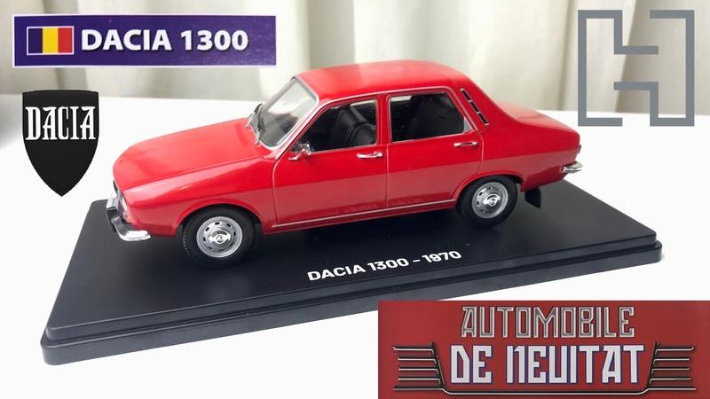 Dacia 1300 Renault 12 Automobile de neuitat Nr 1 Hachette 1 24 scale