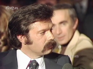 1976 José María Iñígo entevista a Kabir Bedí Sandokan Madrid Spain 1976