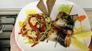 Прекрасный ужин диабетика, который будет полезен каждому, кто следит за своим здоровьем!
