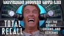 Total Recall just the grunts, groans, and screams