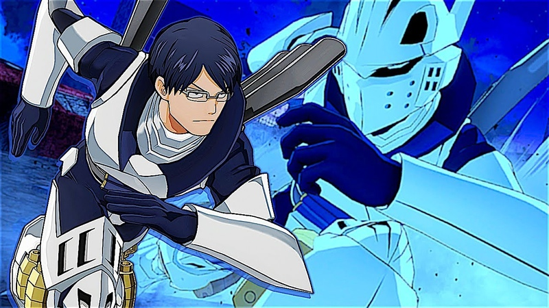 RECIPRO BURST I Tenya Iida GAMEPLAY My Hero One's Justice
