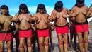 Dünyanın en ilkel kabilesinden tuhaf geleneksel dans gösterisi