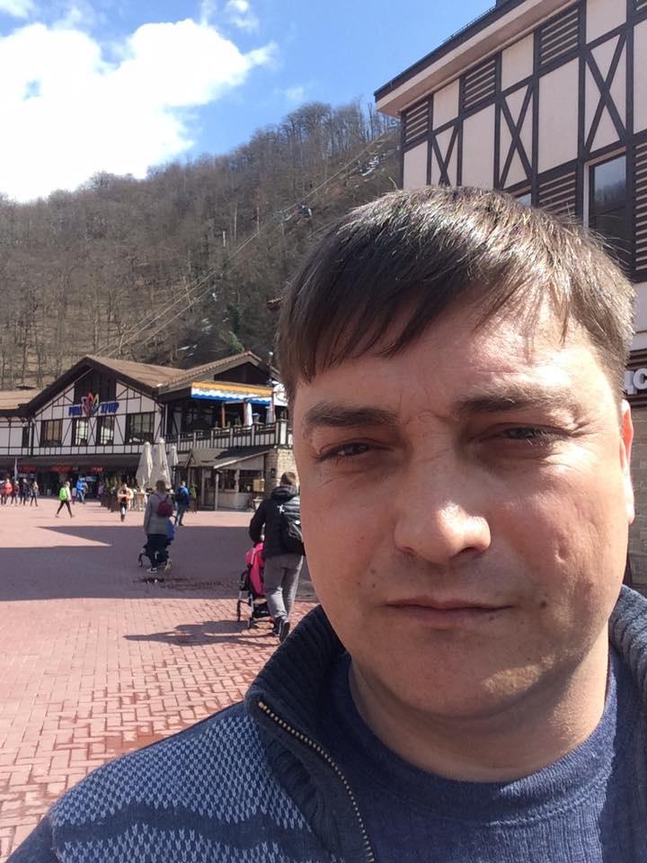 Вячеслав Егоров / Фото со страницы Егорова в фейсбуке